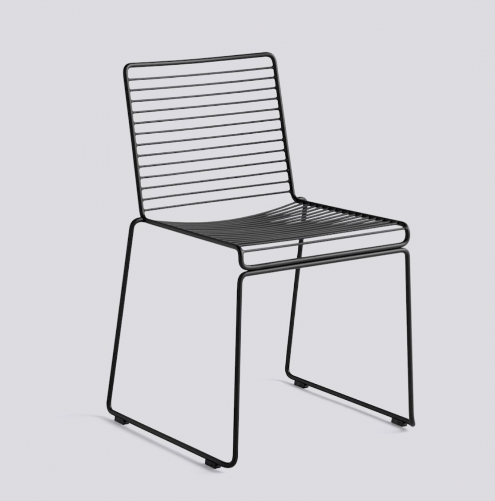 Bilde av Hee Dining Chair HAY Black