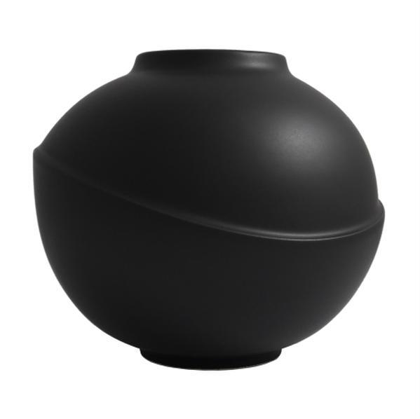 Bilde av Big Bubble vase matt black (sort)