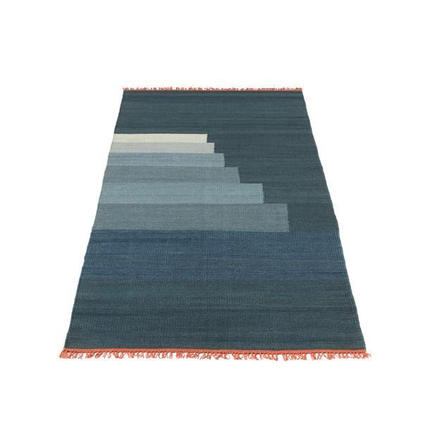 Bilde av Another rug gulvteppe 90x240 cm blue thunder