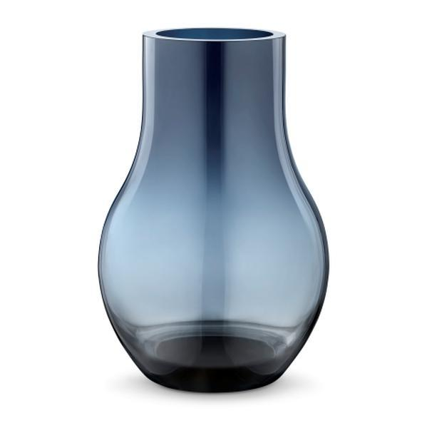 Bilde av afu glassvase blå medium, 30 cm