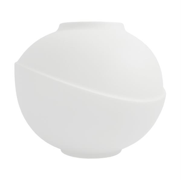 Bilde av Big Bubble vase matt white (hvit)