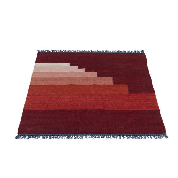 Bilde av Another rug gulvteppe 90x140 cm red vulcano
